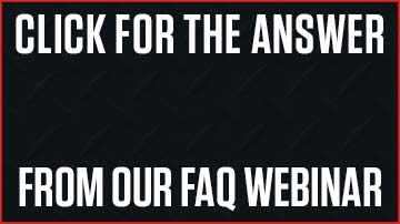 Get the answer from the EVO webinar FAQ